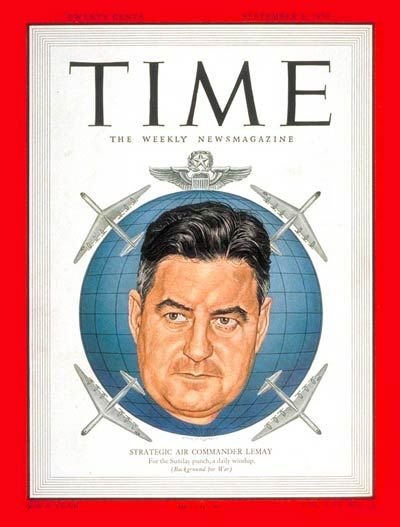TIME Magazine Cover: Lt. General Curtis LeMay -- Sep. 4, 1950