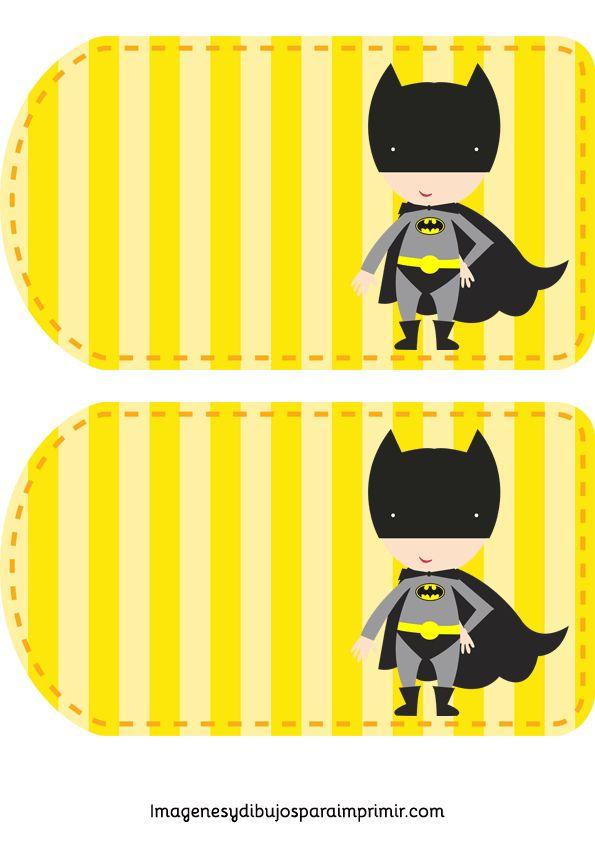Invitaciones de cumpleaños de superheroes-Imagenes y dibujos para imprimir