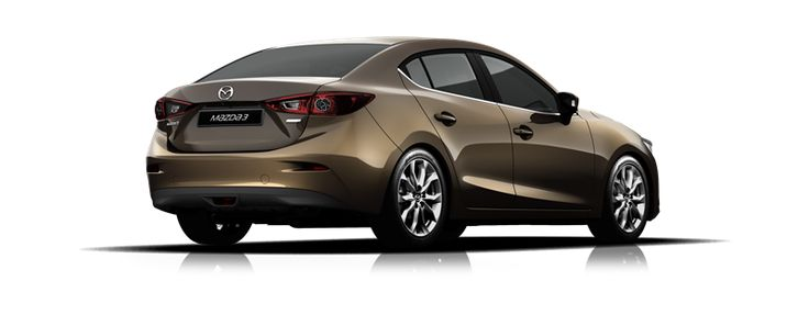 Mazda3 SP25 Astina Sedan - Titanium Flash #mazda3 parklandmazda.com.au
