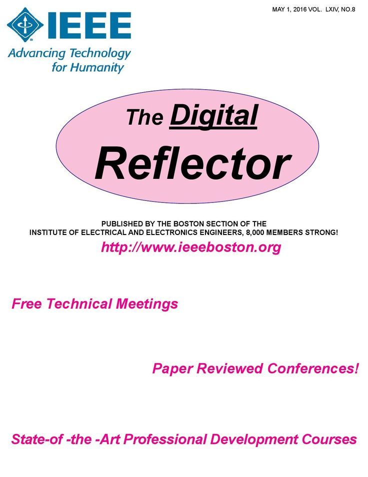 IEEBos May 2016 Digital Reflector