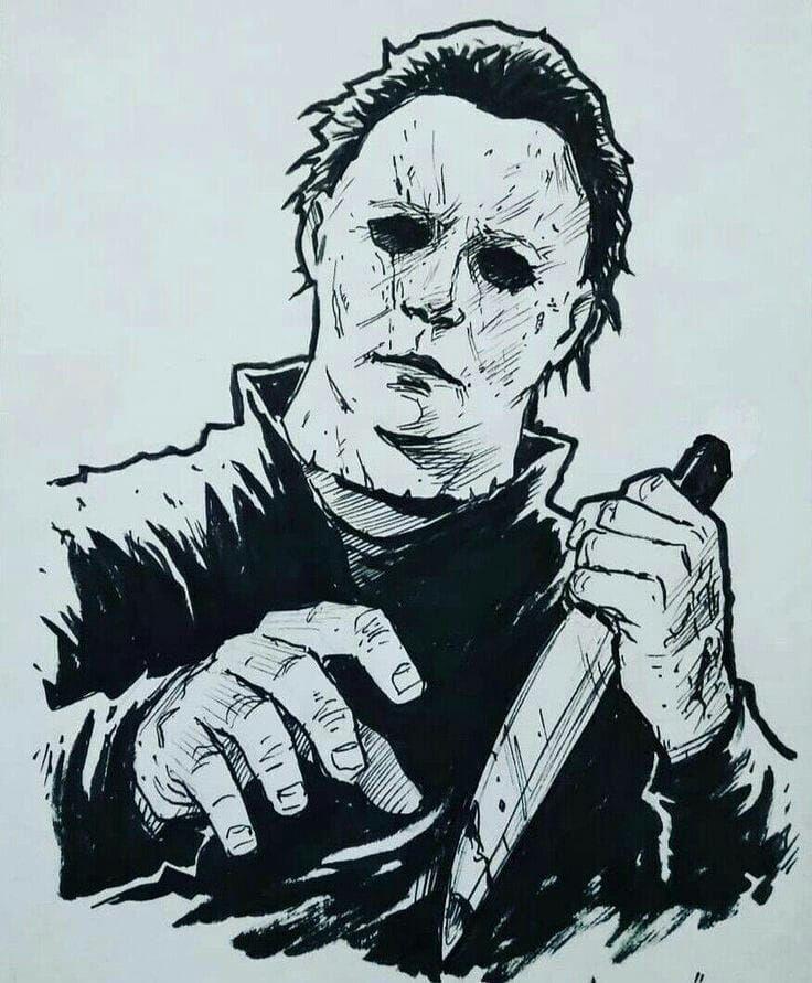 Pin By Jennifer Erickson On Michael Myers Horror Movie Tattoos