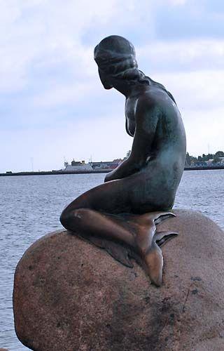 The Little Mermaid  Copenhagen..Denmark