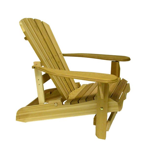 Bear Chair Reclining Adirondack Chair Kit, Cedar  BC500    AdirondackChairOutlet.com