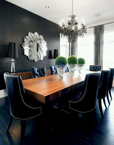 14 Best Decoracion De Comedores Images On Pinterest  Diner Decor Beauteous Decorating Ideas For Dining Room Table Design Decoration