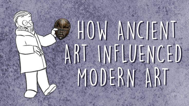 How ancient art influenced modern art.