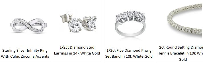 #Diamonds   Earrings, Bracelets and Rings starting as low as $14.99  at http://mother-gifts.net/mother-gifts-discounts-and-promotions