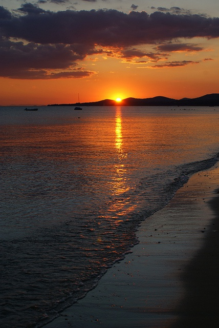 Sunset at Nikiti village, Chalkidiki