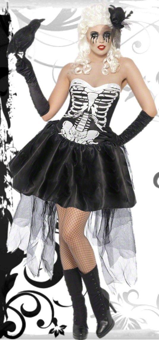 Disfraz de esqueleto para mujeres carnaval. Descubre las últimas tendencias de disfraces para carnaval en MotuFashion.