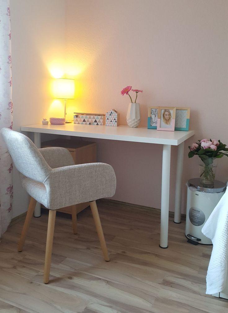 Rosa Mädchenzimmer - mit Ikea und Amazon. Mehr dazu auf meinem Blog