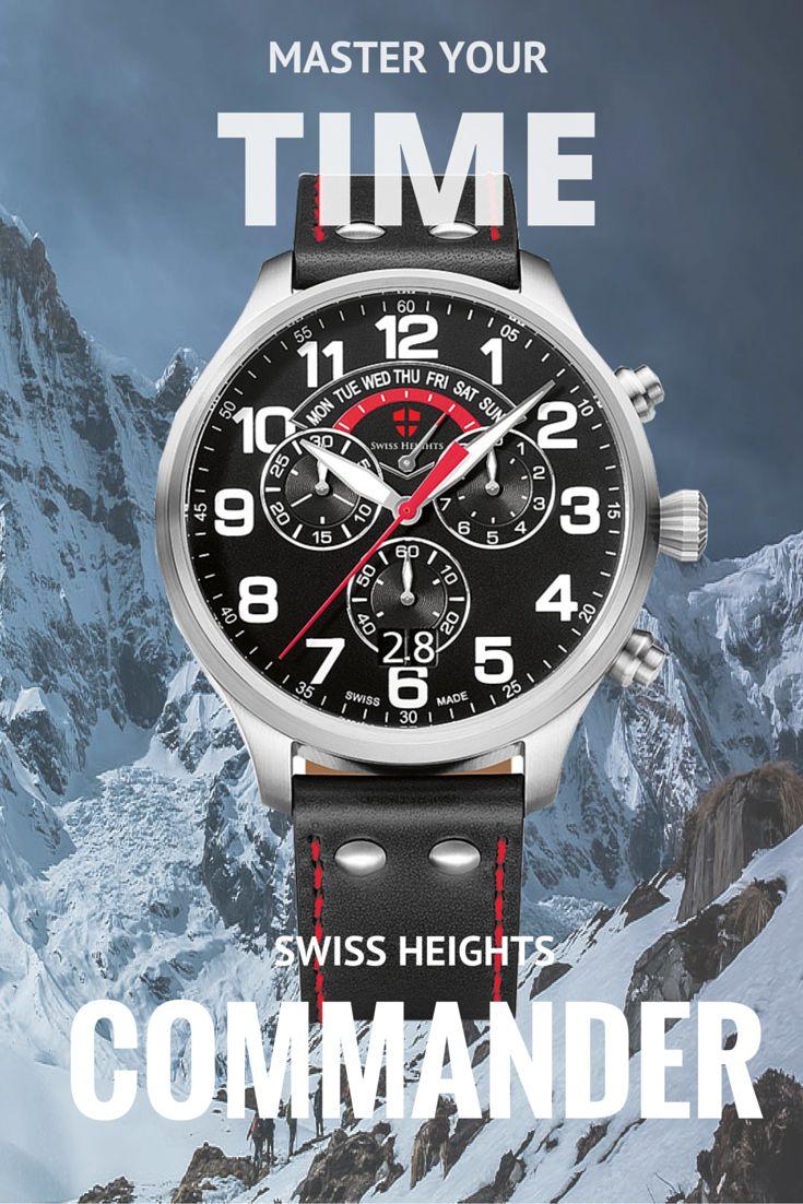 Swiss-Heights-Commander Luxury Swiss Watch