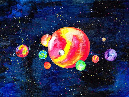 1000+ images about solar system on Pinterest | Moon art ...