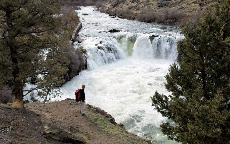Visiting Steelhead Falls requires a certain doggedness. The lovely stretch of the Deschutes River isn't listed in William Sullivan's books chronicling myriad hiking trails in Oregon. The U. S. Bureau of Land Management owns the