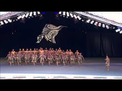 Apanui Whakaeke Day 1 Te Matatini 2013