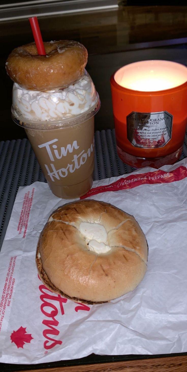 Tim Hortons image by Fatmeh Jordan | Pumpkin spice donut ...