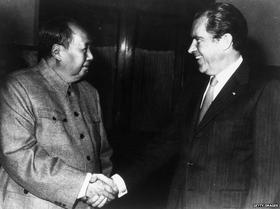 Historic handshakes - Nixon and Mao, Rabin and Arafat, Reagan and  Gorbachev, The Queen and Martin McGuinness #history