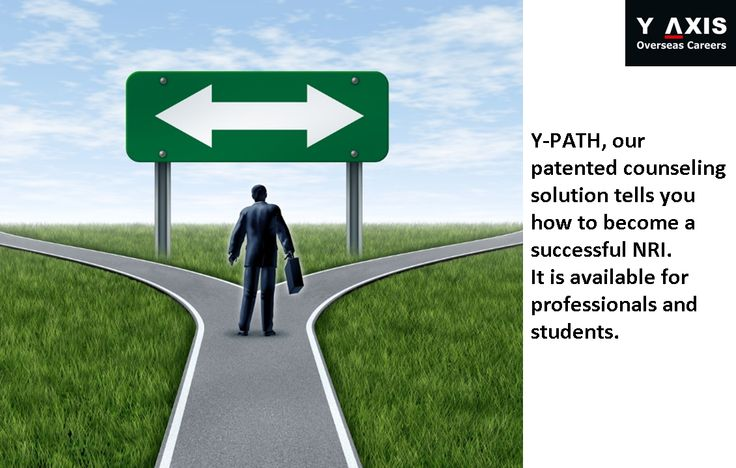Y-PATH, our patented counseling solution tells you how to become a successful NRI. It is available for professionals and students.#YAxisCareerCounselling
