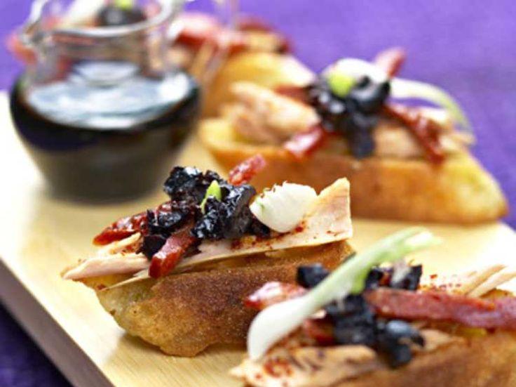 Toasts au thon et piment d'Espelette, facile et pas cher