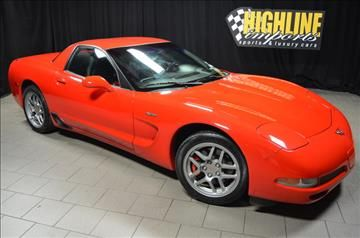 2002 Chevrolet Corvette for sale in Easton, PA