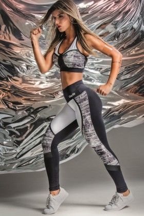 Calça Legging Fusô Flush - Oxyfit 14451178 Dani Banani Fashion Fitness