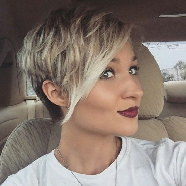 Peachy 1000 Ideas About Pixie Hairstyles On Pinterest Pixie Haircuts Short Hairstyles For Black Women Fulllsitofus