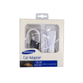 EP-LN915U Samsung Car Charger white box + ECB-DU4EWE cable