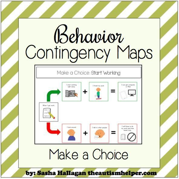 Flow Chart Cheat Sheet – Make a Behavior Plan Easy to Follow! by theautismhelper.com