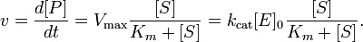 Michaelis-Menten Equation typically used for single substrate enzyme kinetics. Thanks A LOT Menten!