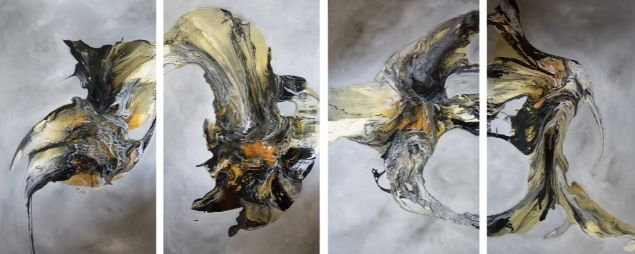 The works of Ilia Petrovic coming to a reception in Mayfair soon. For more info visit www.artful.org.uk