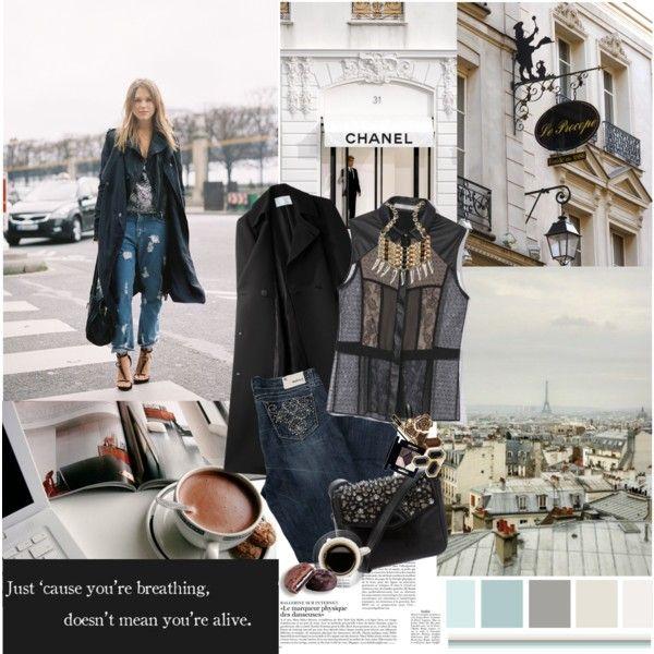 """""""street style ! :D"""" by nina1596 on Polyvore http://nina1596polyvore.blogspot.dk/"""