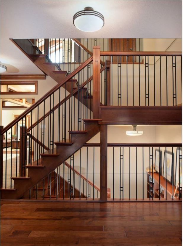 Iron Contemporary Balustrade Staircase Banister Project