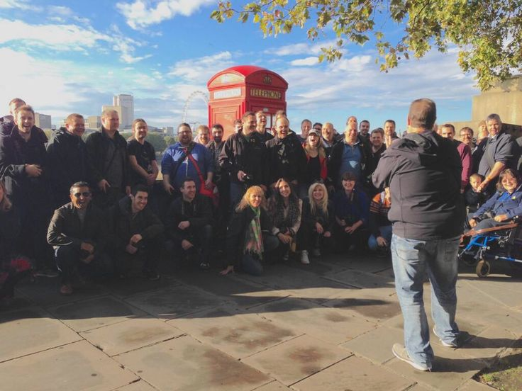 Scott Kelby and his #WWPW2014 crew in London!  Pic by Dave Clayton!