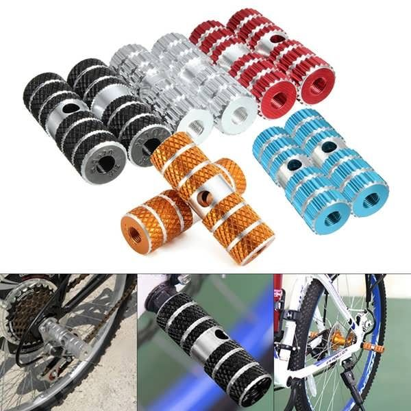 2PCs Bicycle Pedals Axle Foot Pegs For BMX Bike Bicycle Cycling Aluminum Alloy Multi Colors  Worldwide delivery. Original best quality product for 70% of it's real price. Buying this product is extra profitable, because we have good production source. 1 day products dispatch from...