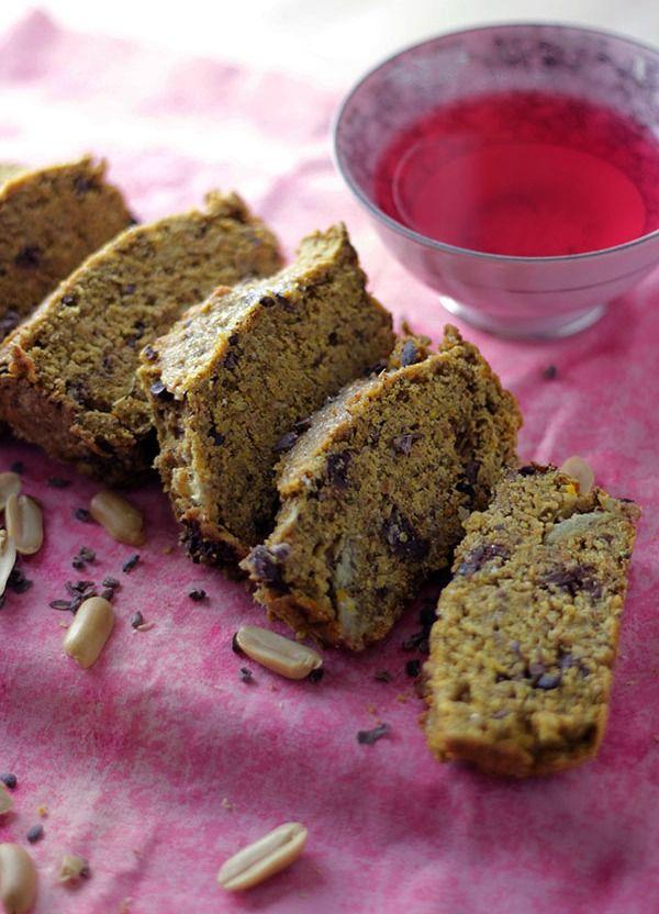 Pompoen Pindakaas Brood | De Bakparade 1782 calorieën voor het geheel
