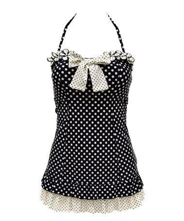 Awwww...cuteness. I <3 me some Betsy Johnson! retro swimsuit