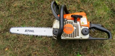 A popular small chainsaw and an arborist favorite.: Stihl's Smallest Chainsaw