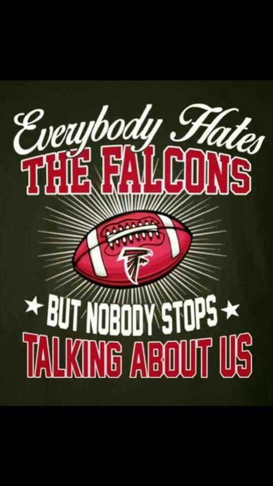 Haha! Go Falcons!