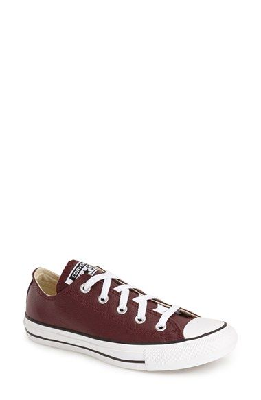 Converse Chuck Taylor® All Star® Leather Low Top Sneaker (Women)