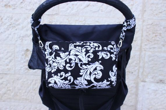 Small Diaper Bag  Small Nappy Bag  Stroller Bag  by TraceyLipman