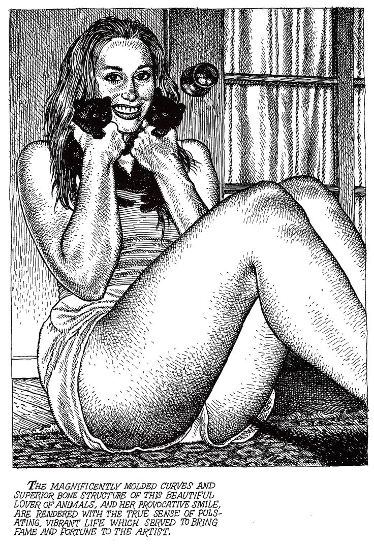 2nd September, 2013 02/09/2013 0 Notes 484 notes 0 Shares 0Robert Crumb.   from ART & BEAUTY MAGAZINE #2, Fantagraphics Books,   2003