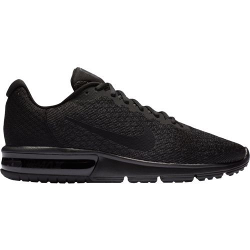 Nike Men's Air Max Sequent 2 Running Shoes (Black/Black, Size 8) - Men's Running Shoes at Academy Sports