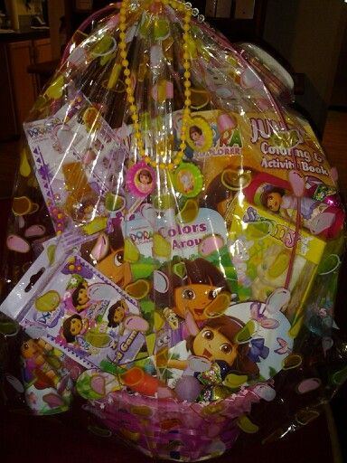 16 best kiya easter baskets ideas images on pinterest easter dora easter basket created by kentisha negle