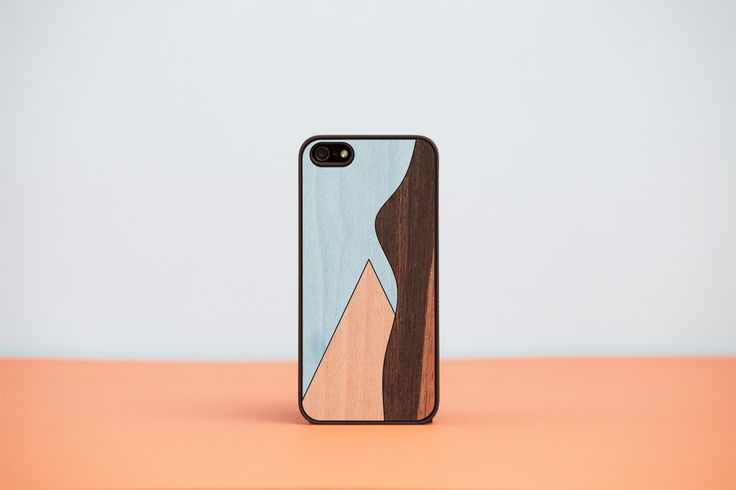 "Cover iPhone ""BLACK FRIDAY EDITION"" - n.01 / Wood'd"