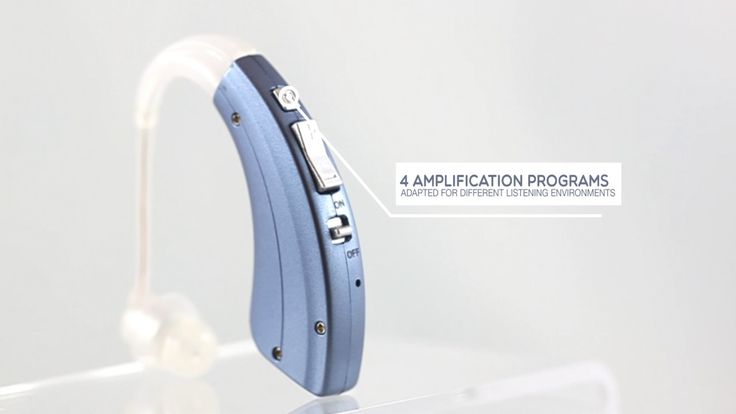 BHA-220 Rechargeable hearing amplifier
