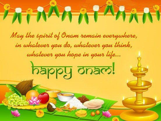 Happy #Onam Wishes & Greeting Message Card & Ecard Image #onam2017 #indian