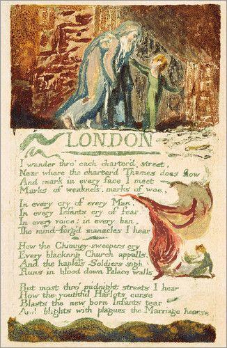 William Blake - London  || Ideas and inspiration for the teaching of GCSE English || www.gcse-english.com ||