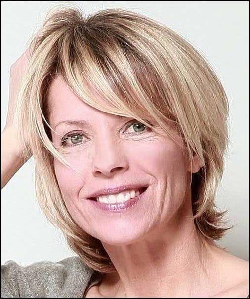 Blickfang 23 Neue Kurze Blonde Frisuren Frisur Pinterest