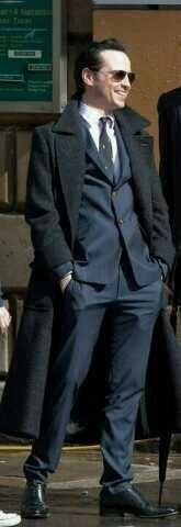 Andrew Scott As Moriarty Wearing Sherlock's Coat. All Arguments Are Invalid