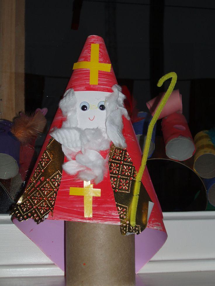 Sinterklaashoed, 2de kleuterklas