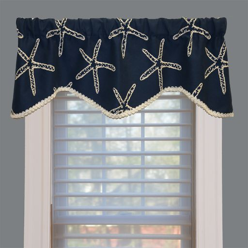 Beach Decor Window Treatment Valance. Looking For A Way To Spruce Up For  Home With
