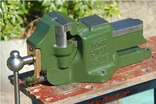Fortis Steel Double Swivel Jaw Vise In 2019 Bench Vise
